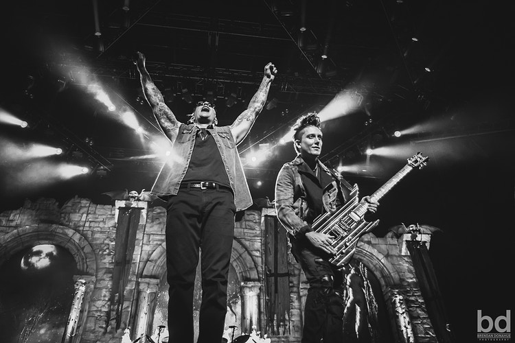 M Shadows & Synyster Gates - Brendan Donahue Photography