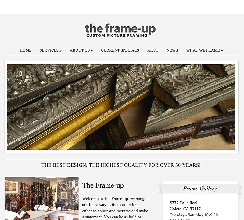 theframe-up.com - Brian Bailey