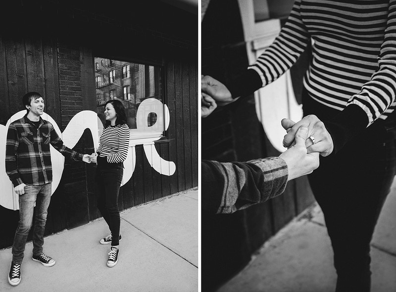 Sarah And Danny Chicago Engagement - Bri Short Photography | Best Wedding Photographer in Chicago, Illinois