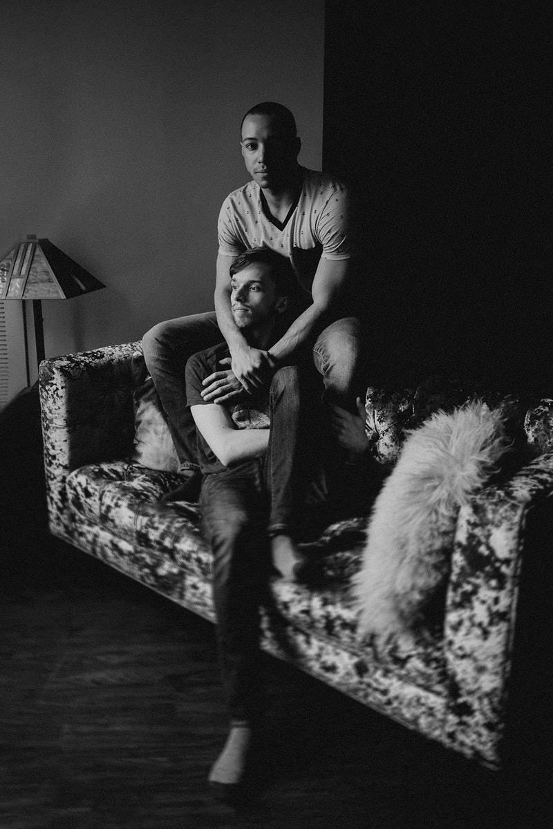 John Michael And Lucas In Home Love - Bri Short Photography | Best Wedding Photographer in Chicago, Illinois