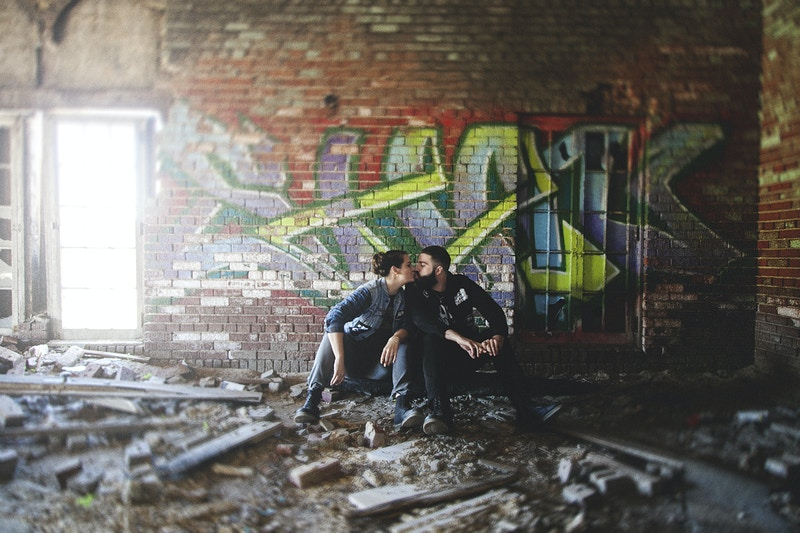 Therese And Caleb Gary Indiana Engagement - Bri Short Photography   Best Wedding Photographer in Chicago, Illinois