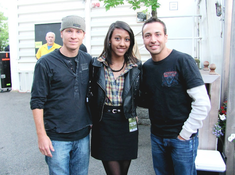 Brian & Howie of the Backstreet Boys - brittany butler.