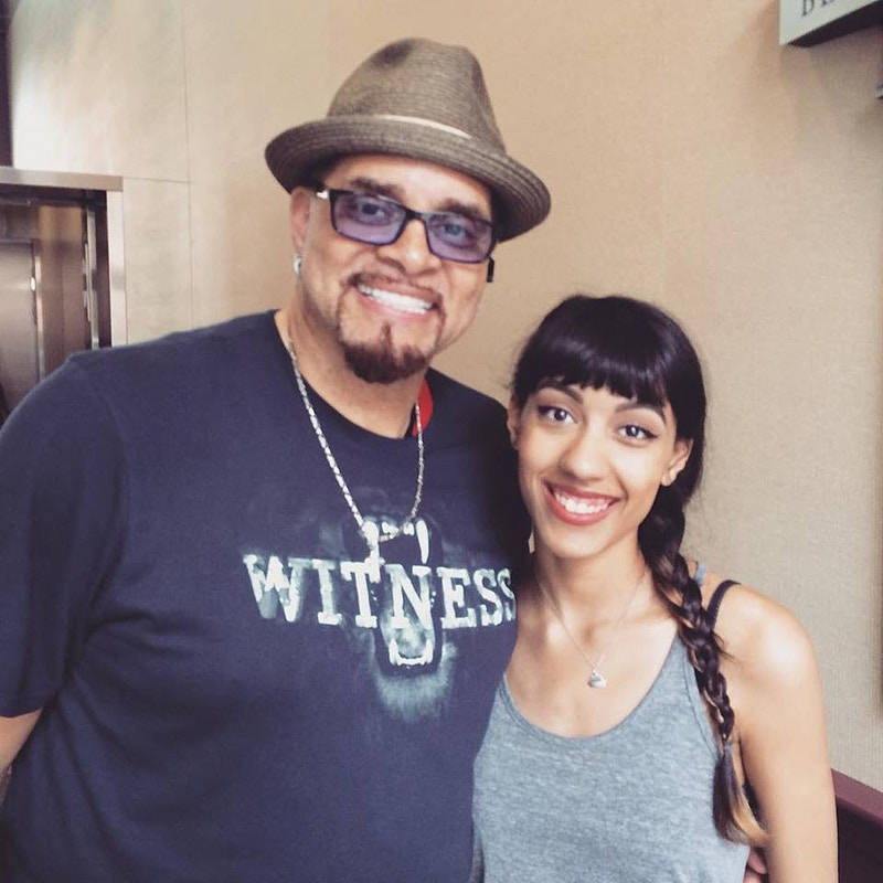 With Sinbad at Berklee - brittany butler.