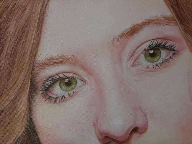 Green Eyed Girl © Camille LaMontagne - Camille LaMontagne