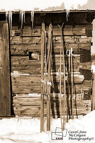 68 - Skis (Shed) / Skis (cabanon) - www.camphoto.ca