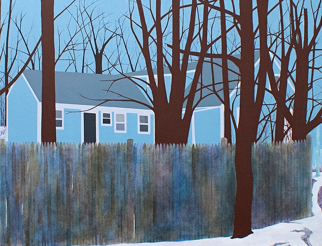 Didn't That House Used to Be Yellow? - Carolyn T. Burns