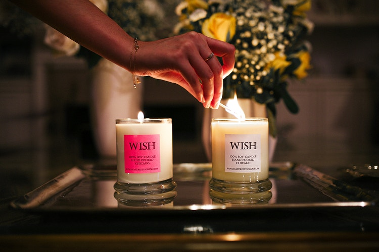 Wish Candles - Chase Hall