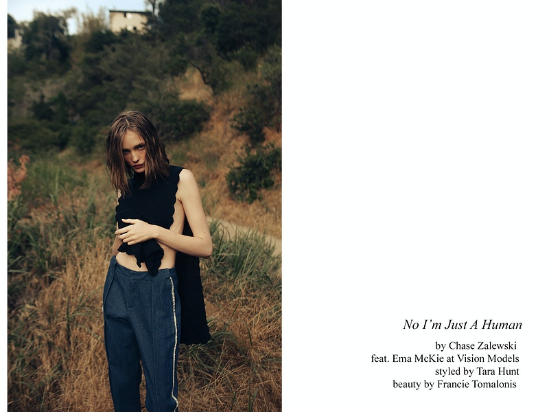 No Im Just A Human Bullett Magazine 2017 - CHASE ZALEWSKI