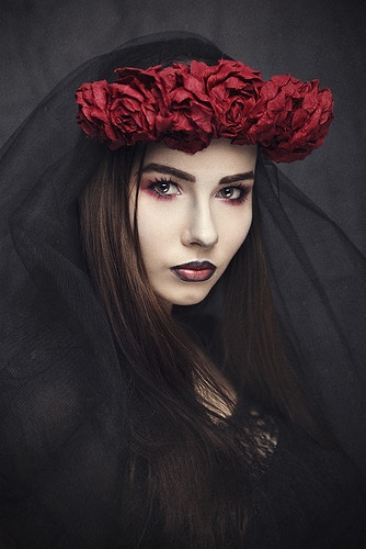 Dark Beauty Magazine - CHRIS PANAS