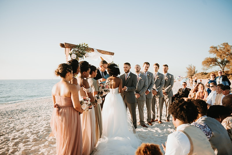 Mary Spencer Naples Wedding - Christiane Elise Photography