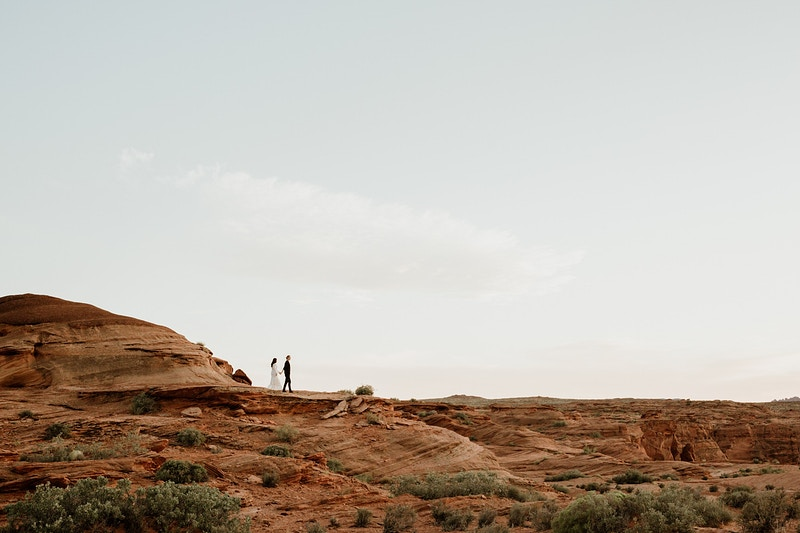 Horseshoe Bend And Antelope Canyon Engagement - Christy Kendall Photography