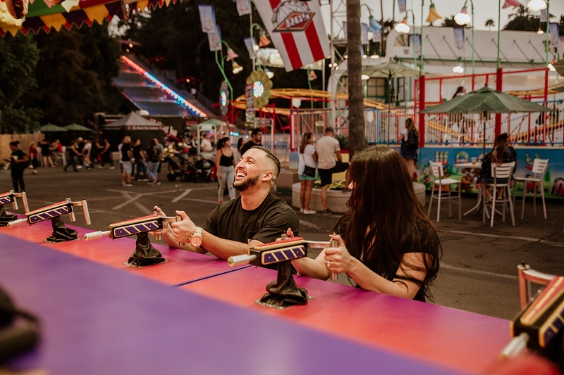 La County Fair Engagement - Christy Kendall Photography