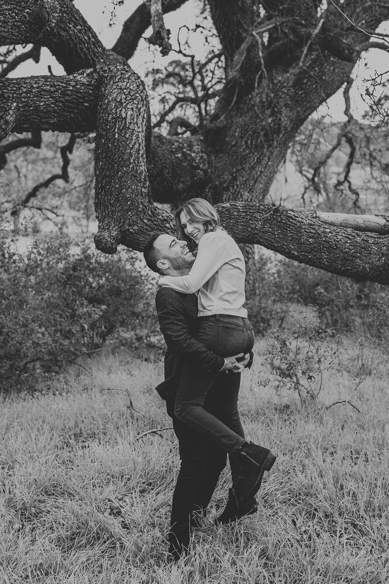 A Family Engagement At King Gillette Ranch - Christy Kendall Photography
