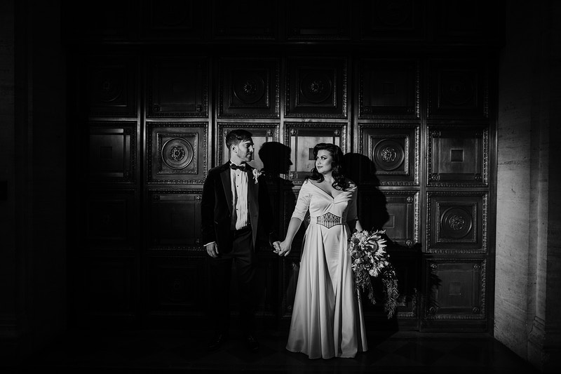 There Was A Wedding At The Museum - Christy Kendall Photography