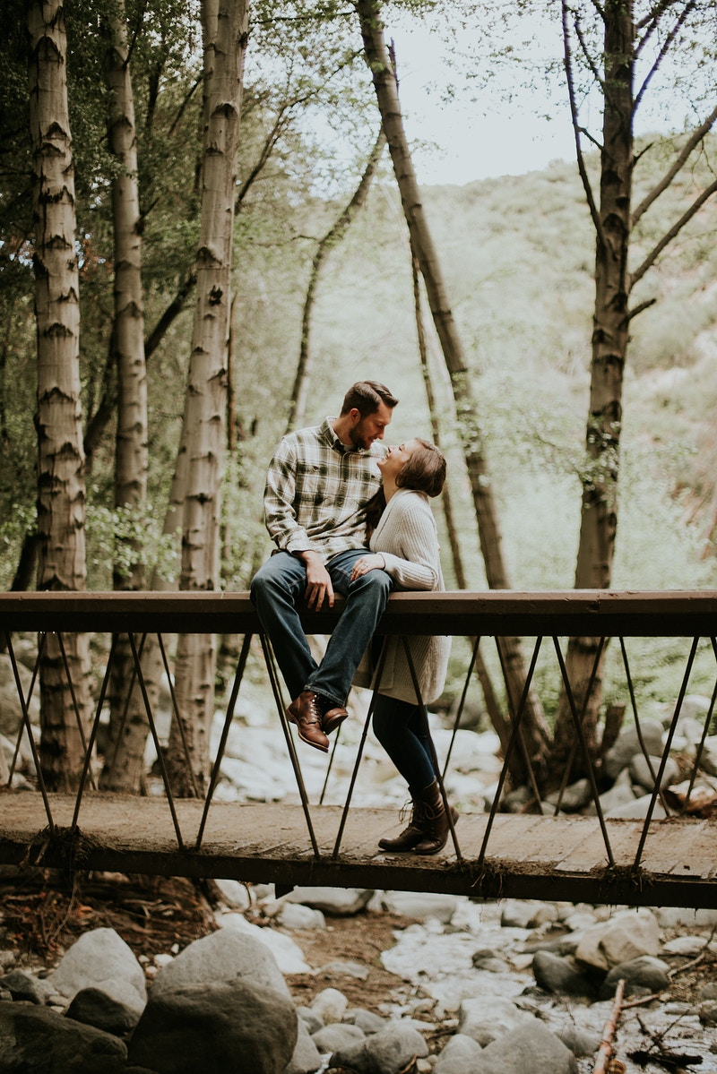 Switzer Falls Engagement - Christy Kendall Photography