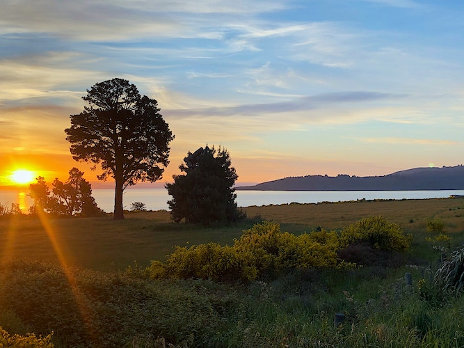 Sunset Over Lake Taupo - Cole McDaniel Photography