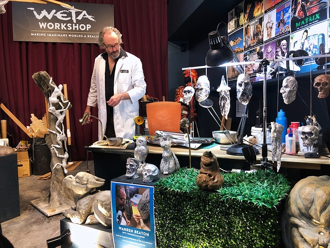 Weta Workshop - Cole McDaniel Photography