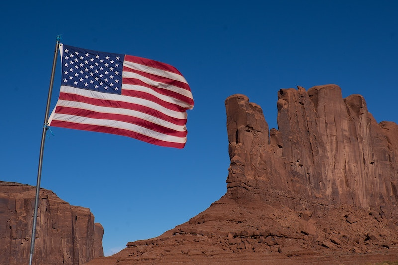 Flag - Monument Valley - Coline Heisse § Photographies