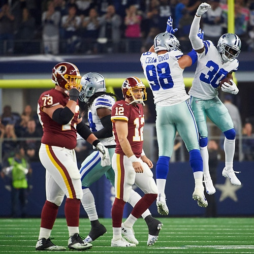 Cowboys V Redskins For The Nfl November 2018 Click For More - Cooper Neill | Dallas Freelance Photographer