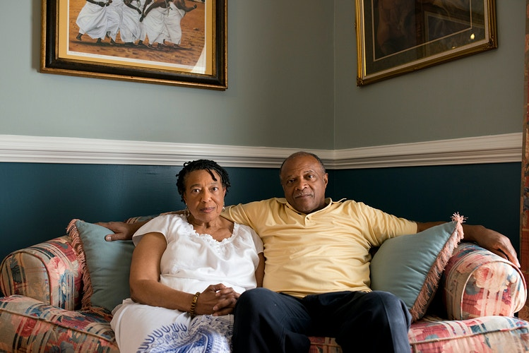 Shirley & John Lewis (for AARP) - Cooper Neill | Dallas Freelance Photographer