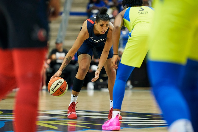 Dallas Wings v Washington Mystic (for WNBA) - Cooper Neill | Dallas Freelance Photographer