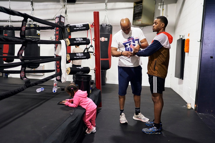 Errol Spence Jr For Espn February 2019 Click For More - Cooper Neill | Dallas Freelance Photographer