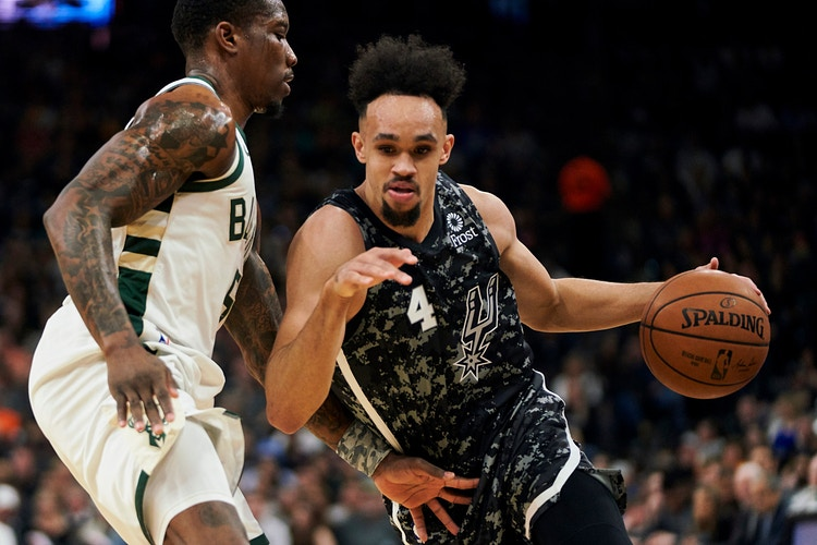 Derrick White (for San Antonio Spurs) - Cooper Neill | Dallas Freelance Photographer