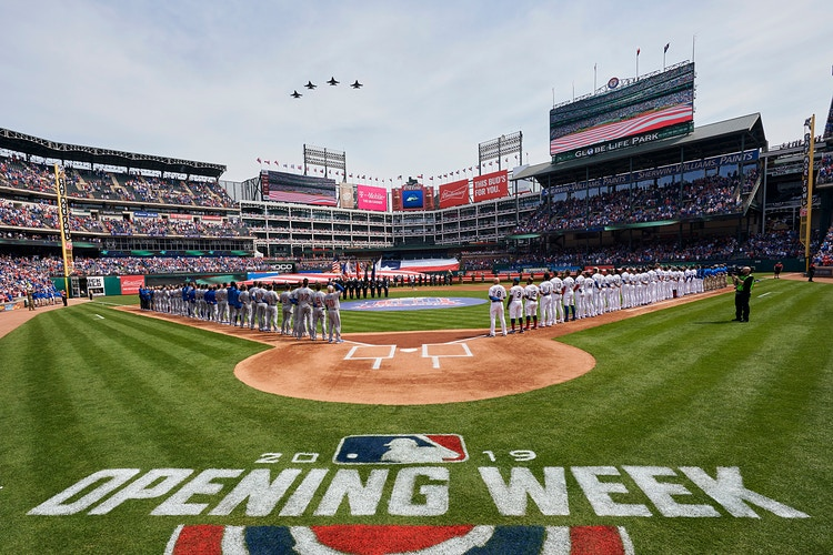 Opening Day 2019 Rangers V Cubs For Mlb March 2019 Click For More - Cooper Neill | Dallas Freelance Photographer