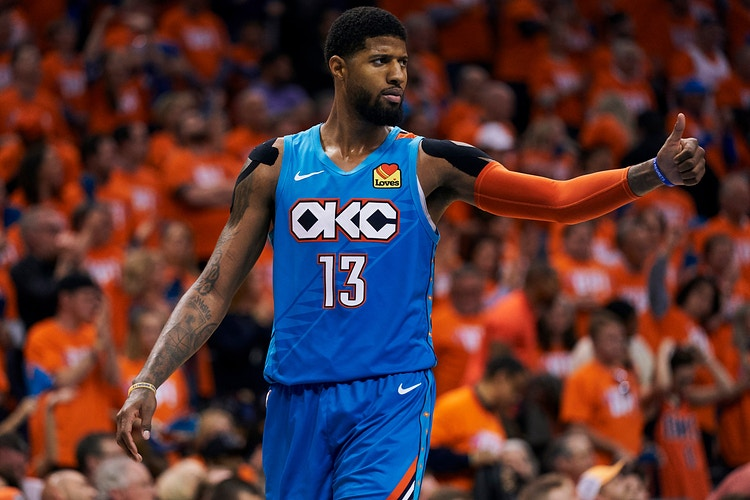 Nba Playoffs Okc V Portland Game 3 For Getty Images April 2019 Click For More - Cooper Neill | Dallas Freelance Photographer