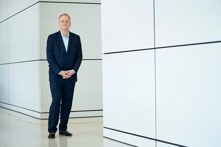 American Airlines CEO Doug Parker (for The Wall Street Journal) - Cooper Neill | Dallas Freelance Photographer
