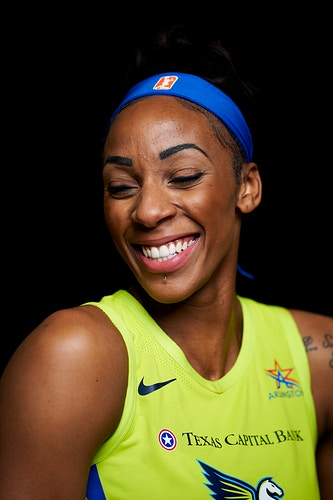 Glory Johnson (for WNBA) - Cooper Neill | Dallas Freelance Photographer