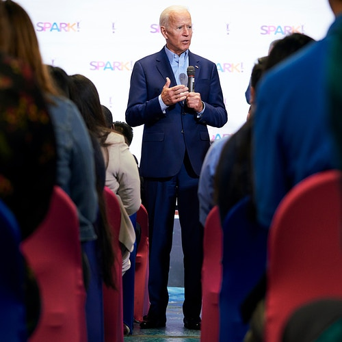 Joe Biden For The New York Times May 2019 - Cooper Neill | Dallas Freelance Photographer