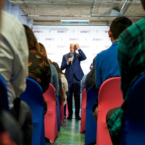 Joe Biden (for The New York Times) - Cooper Neill | Dallas Freelance Photographer