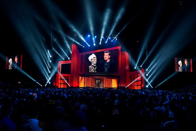 Jeff Dunham (for Netflix) - Cooper Neill | Dallas Freelance Photographer