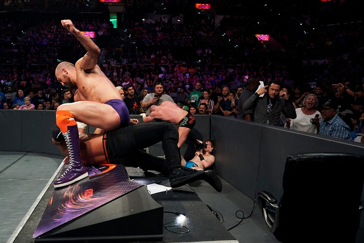 205 Live (for WWE) - Cooper Neill | Dallas Freelance Photographer