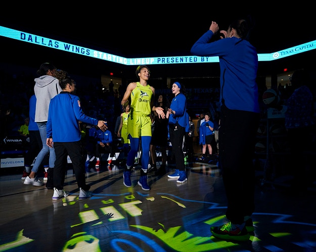 Dallas Wings v Chicago Sky (for WNBA) - Cooper Neill | Dallas Freelance Photographer