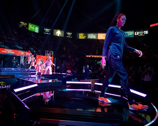 WNBA All Star Weekend (for WNBA) - Cooper Neill | Dallas Freelance Photographer