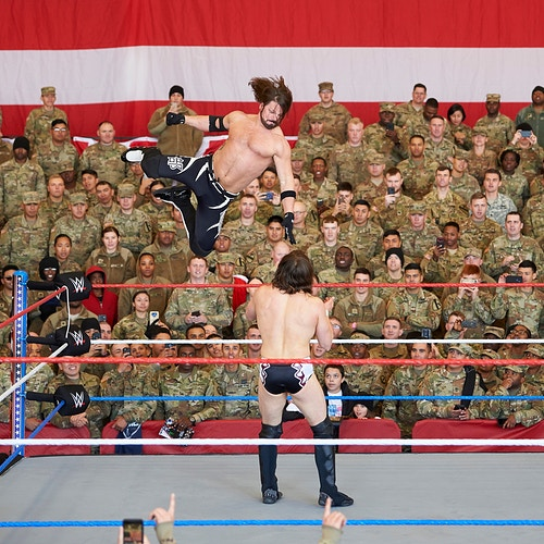 Tribute To The Troops For Wwe December 2018 Click For More - Cooper Neill | Dallas Freelance Photographer