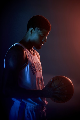 Paul George (OKC Thunder) - Cooper Neill | Dallas Freelance Photographer