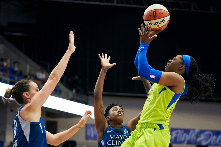 Dallas Wings v Minnesota Lynx (for WNBA) - Cooper Neill | Dallas Freelance Photographer