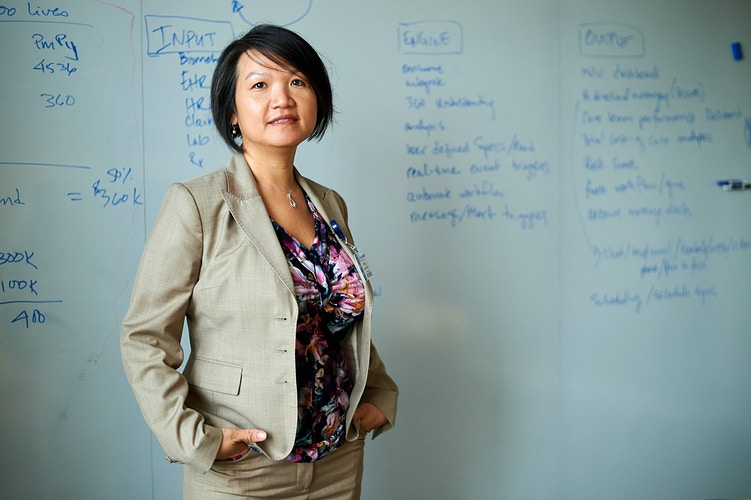 Tricia Nguyen (for HealthLeaders Magazine) - Cooper Neill | Dallas Freelance Photographer