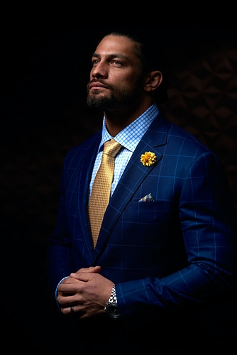 Roman Reigns (for Vice) - Cooper Neill | Dallas Freelance Photographer