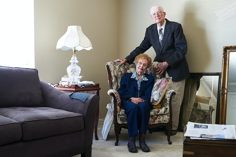 Ed & Peggy Flemister (for The Dallas Morning News) - Cooper Neill | Dallas Freelance Photographer