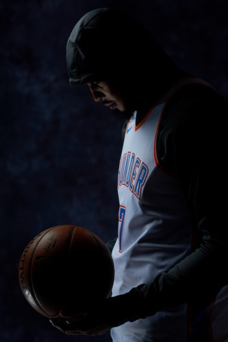 Carmelo Anthony (OKC Thunder) - Cooper Neill | Dallas Freelance Photographer