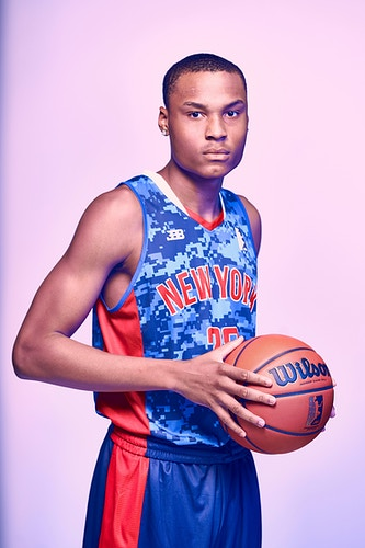 Calvin Brown (New York Ballers) - Cooper Neill | Dallas Freelance Photographer