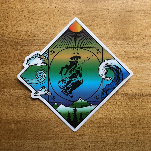 CM The Elements Sticker - Corey McCormick