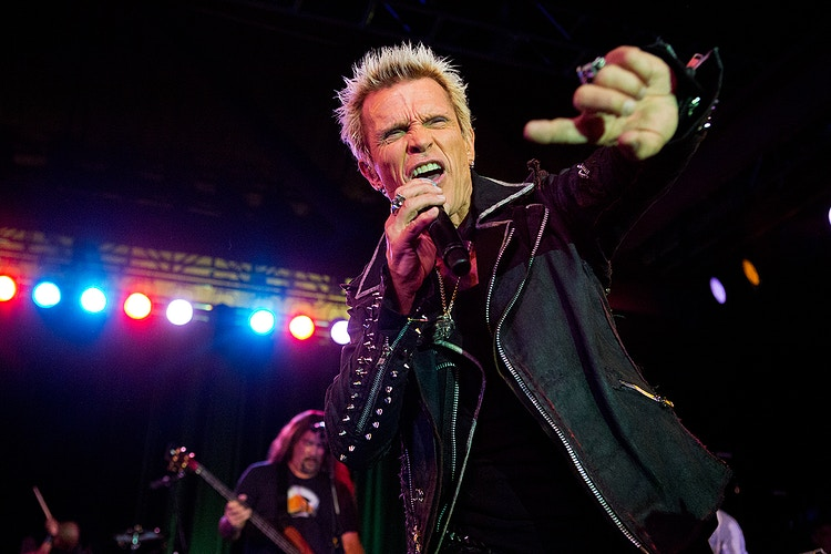 Billy Idol - CRICKONTOUR