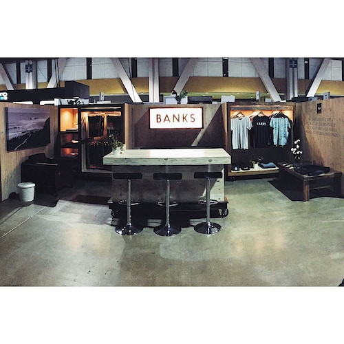 Banks Brand Agenda Tradeshow 2015-2016 - COYOTE CUSTOM WOODWORK