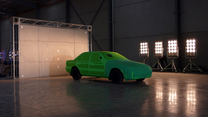green body car - Damien Drew / Art Director