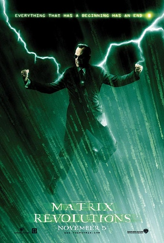 matrix revolutions - Damien Drew / Art Director
